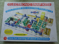 Electronic Snap Kits  ELECTRONICS 202 build over 300 projects