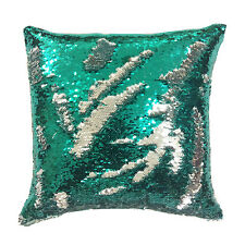 Magic Square Reversible Mermaid Sequin Cushion Cover Glitter Scatter Pillow