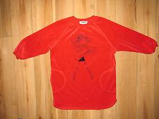 Rykiel enfant, velours rouge designer pull 5-6 ans, très bon état.