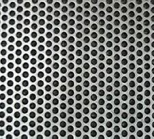 """PERFORATED 430 STAINLESS SHEET 24G x 30 3/4"""" x 24"""", 1/4"""" Perfs, 5/16 Centers"""