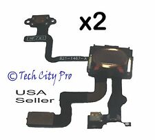 Lot of 2 iPhone 4S Proximity Sensor And Power Button Flex Cable + Earpiece