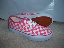 NWT VANS GIRLS/YOUTH AUTHENTIC (CHECKERBOARD)  SNEAKERS/SHOES SIZE 13. NEW 2016!
