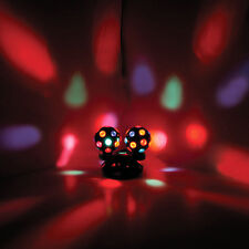 DUAL TWIN DISCO ROTATING SPINNING BALL DJS CLUB WEDDING PUB PARTY PROM LIGHTS