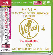 Venus Records The Amazing Super Audio CD Sampler Vol.4 Audiophile DSD SACD Japan