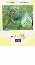 PUBLICITE ADVERTISING 024   1992   KENZO   senteurs d' ETE