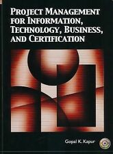 Project Management for Information, Technology, Business and Certifica-ExLibrary