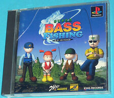Super Bass Fishing - Sony Playstation - PS1 PSX - JAP Japan