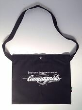 campagnolo Black colour Cotton Cycling  Road Bike Musette Bag NOS