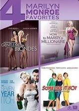 Gentlemen Prefer Blondes/How to Marry a Millionaire/Seven Year Itch/Some DVD New