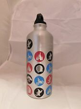 "Walt Disney Resort ""Four Parks One World"" Aluminum Water Bottle"