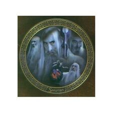 The Lord of the Rings Saruman Limited Edition Bone China Plate 2000 Boxed UNUSED