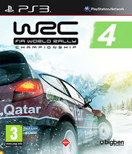 WRC: FIA World Rally Championship 4 3 ~ PS3 (en gran condición)