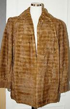 veste en fourrure de vison d'élevage taille 38/40 vintage