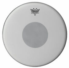 "Remo 13"" Controlled Sound Reverse Dot Coated and Hazy Emperor Set  SH"