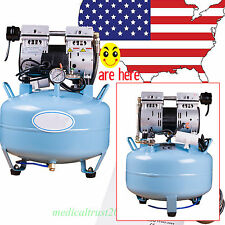 Dental Silent Noiseless any Oil fume Oilless Air Compressor 30L 8Mpa