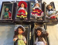 Pick 1 from Dolls Of All Nations Poland Holland Mexico Italy Switzerland France