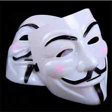 V per Vendetta Maschera Anonymous Guy Fawkes Vestito Decorato Adulti cosplayF AM