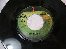 The Ballad of John and Yoko Old brown shoe The Beatles  45 record