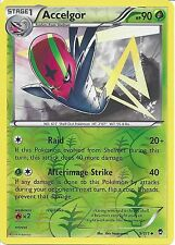 POKEMON XY Furious Fists-ACCELGOR 9/111 Rev HOLO