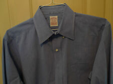 BROOKS BROTHERS-RED LABEL-BUTTON DOWN ALL COTTON-BLUE-GREAT CONDITION-15.5-32