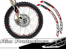19 & 21 INCH DIRT BIKE RIM PROTECTORS WHEEL DECALS TAPE GRAPHICS MOTORCYCLE