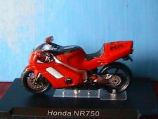MOTO BIKE HONDA NR750 NR 750 RED IXO 1/24 ALTAYA 2 ROUES MOTORCYCLE ROT ROUGE