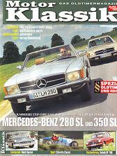 Motor Klassik 8/06 Mercedes C/R107 280 SL & 350 SLC / Buick Special/Jaguar MK II