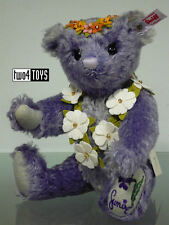 STEIFF JAPAN Ltd SUMIRE TEDDY BEAR LAVENDER TEDDY BEAR 28cm/ 11in. EAN 677885