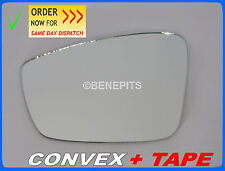 Wing Mirror Glass  VW JETTA /UP 2009-2012 CONVEX + TAPE Left Side #I058