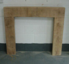Wooden Oak Fire Surround Solid Oak  Bespoke Fire Surrounds Hand Made