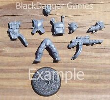 40K Astra Militarum  Tempestus Scions Single Figure Bits