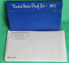 1971 Proof and Uncirculated Annual US Mint Coin Sets PDS 16 Coins FREE US SHIP