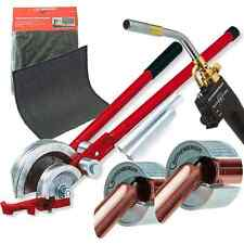 Rothenberger Superfire 2 Torch with Solder Mat & 15-22mm Pipe Bender/Cutter Set