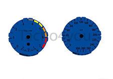 Bmw de tacómetro para 1er e81 e82 e87 e88 300 sets multaránpor km/h m1 azul nr 104