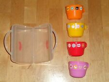 HELLO KITTY Stacking Cup Set of 4 SANRIO 6 oz