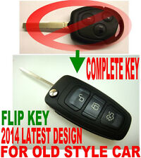 NEWEST STYLE FLIP KEY REMOTE FOR 2009-2014 FORD FIESTA CHIP KEYLESS ENTRY FOB