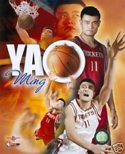 "YAO MING ""Houston Rockets"" un-signed LICENSED poster print picture 8x10 photo"