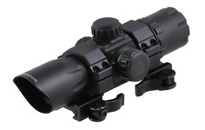 """UTG 6.4"""" ITA Red / Green CQB Dot Sight with 1-piece QD Rings SCP-DS3068W"""