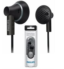 Philips SHE3000BK In-Ear Headphones Extra Bass 15mm Speaker SHE3000 Black