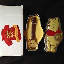 Disney Winnie The Pooh 80th Anniversary Watch In Tin Special Edition