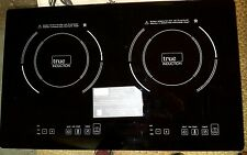 True Induction Cooktop S2F3 Stove Top 2 burner NEW SCRATCHED SURFACE