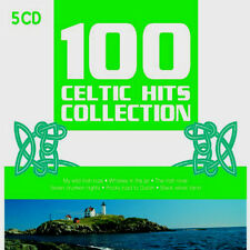 NEW 5 CD BOX SET 100 CELTIC HITS COLLECTION Irish and Scottish Music and Song