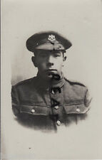 WW1 Pte Notts & Derby Regiment Sherwood Foresters