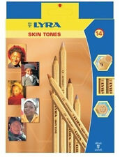 Lyra Colour Pencils - 12 Skin Tone Set ( Skintones )