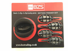 Wholesale joblot of 20 Packs  BZS Inline method feeder sets soft touch mould=-