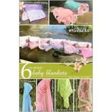 6 So Simple Baby Blanketby McKay Manor Musers Pattern  FREE US SHIPPING