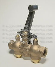 Locking Air Control Valve for In-Ground Auto Lifts