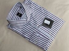 NWT Brand New Finamore Napoli Dress Shirt 17.5 / 44, Handmade in Napoli, Italy