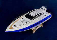 NEW Almost Ready To Run Princess Brushless Motor V-Hull RC Boat 1000mm ARTR