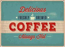 COFFEE ,Vintage style, Metal sign, Collectable, No.756
